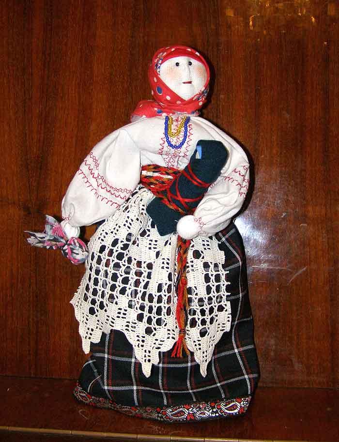 кукла - мамка