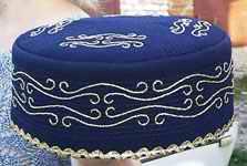 тюбетейка бисерная модель 11